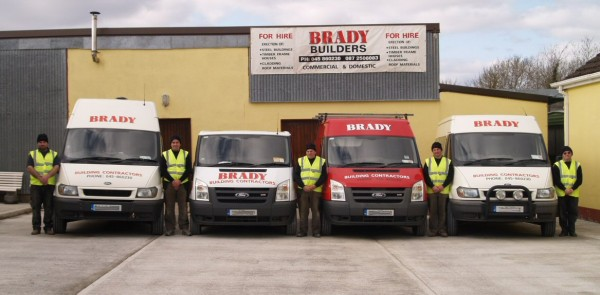 Brady Builders provides the whole range of building construction services.